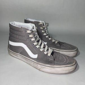 Vans Frost Gray Canvas Sk8-Hi